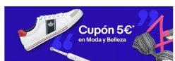 Cupon 5€ en moda y belleza en compras de +20€ en Ebay