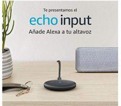 NOVEDAD AMAZON! Echo Input por 19,99€ + Descuento en Altavoces