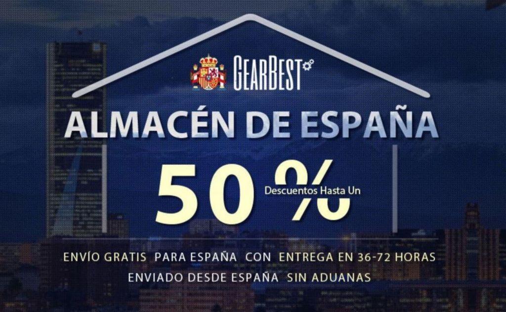 Chollos Gearbest y Aliexpress desde España Stock 24-72H (Actualizado)