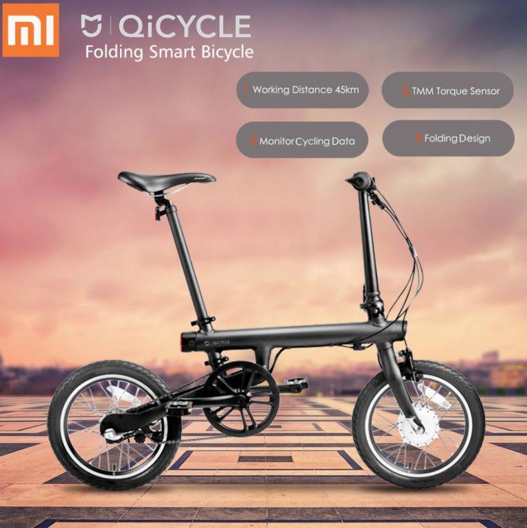 Vuelve el stock Desde Europa! Bicicleta eléctrica Xiaomi QiCYCLE TDP02Z + Regalos a 644€
