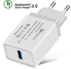 Oferta! Cargador USB Quickcharge 3.0 a 1,62€