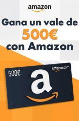 SORTEO Vale 500€ en Amazon