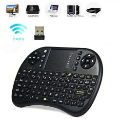 Chollito! Mini Teclado inalambrico con touchpad a 4€