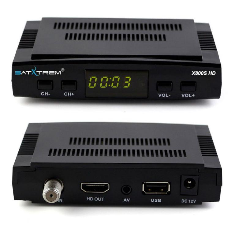 CHOLLACO desde España! SATXTREM X800S HD + WiFi + 5 clines CCCAM a 23€