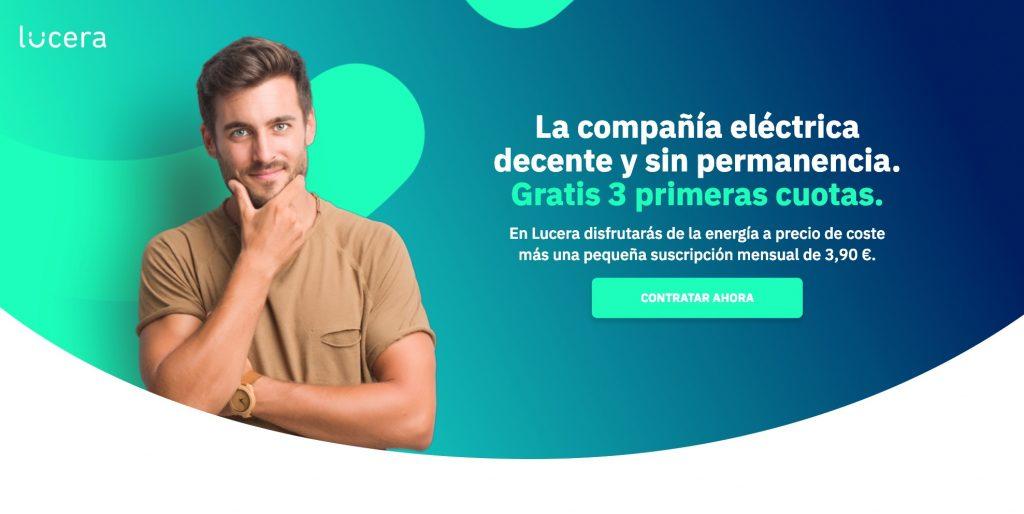 Vuelve el CHOLLO! 3 Meses gratis con Lucera, la compañía de luz LowCost