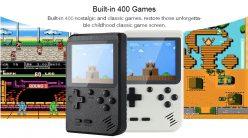 Chollito! Mini Consola Retro con 400 Juegos a 13€