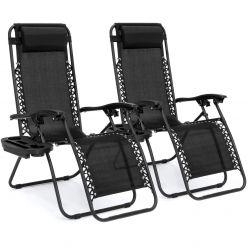 SUPER PRECIO EBAY! 2 Tumbonas sillas gravedad Cero a 59€