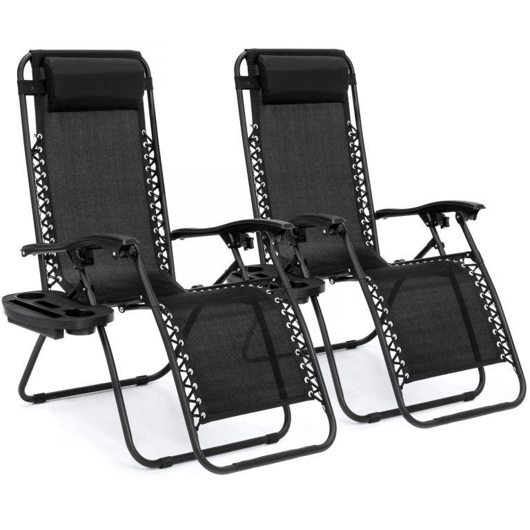 SUPER PRECIO EBAY! Pack de 2 Tumbonas sillas gravedad Cero a 56€