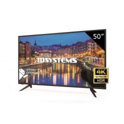CHOLLO AMAZON! Television TD Systems de 50″ 4K Smart TV a 299€