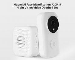 Xiaomi Zero AI, timbre inteligente con vision nocturna y reconocimiento facial a 39€