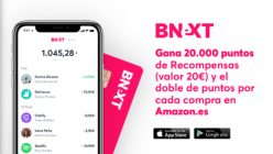 Nueva promo! 20€ GRATIS con BNEXT + Amazon x 2