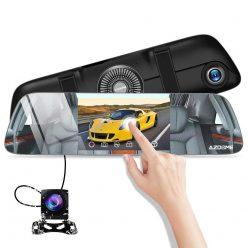 PRECIAZO Amazon! Espejo retrovisor + Camara delantera + Trasera a 19,9€