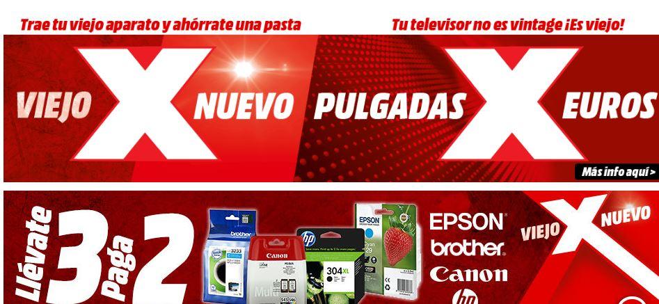 Nueva PROMO MediaMarkt! Viejo X Nuevo TV Philips 50″ 4K a 299€ y mucho mas