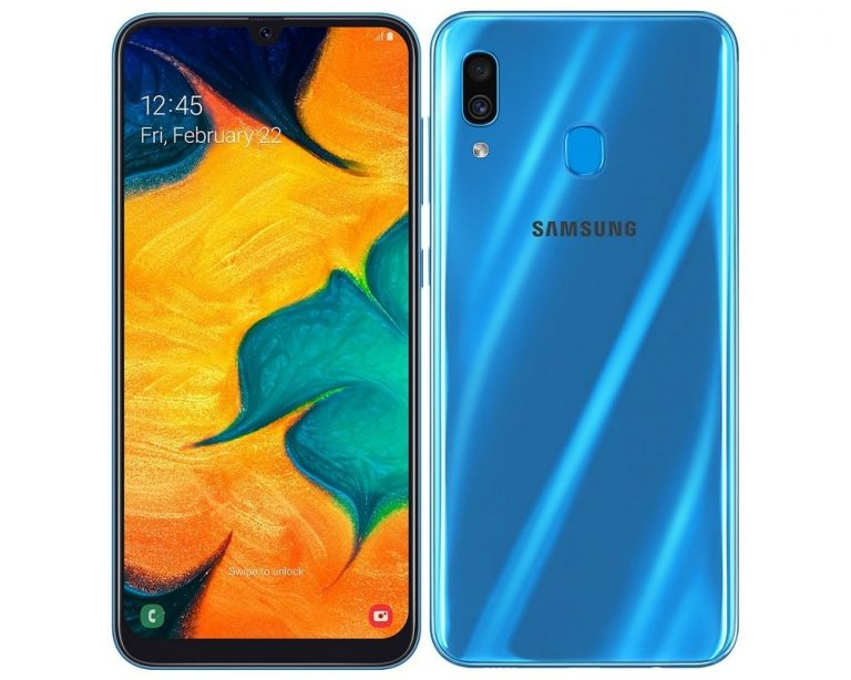 CHOLLO Amazon! Samsung Galaxy A30 de 4/64GB por 185€