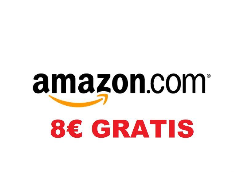 Cupon descuento Amazon de 8€ GRATIS
