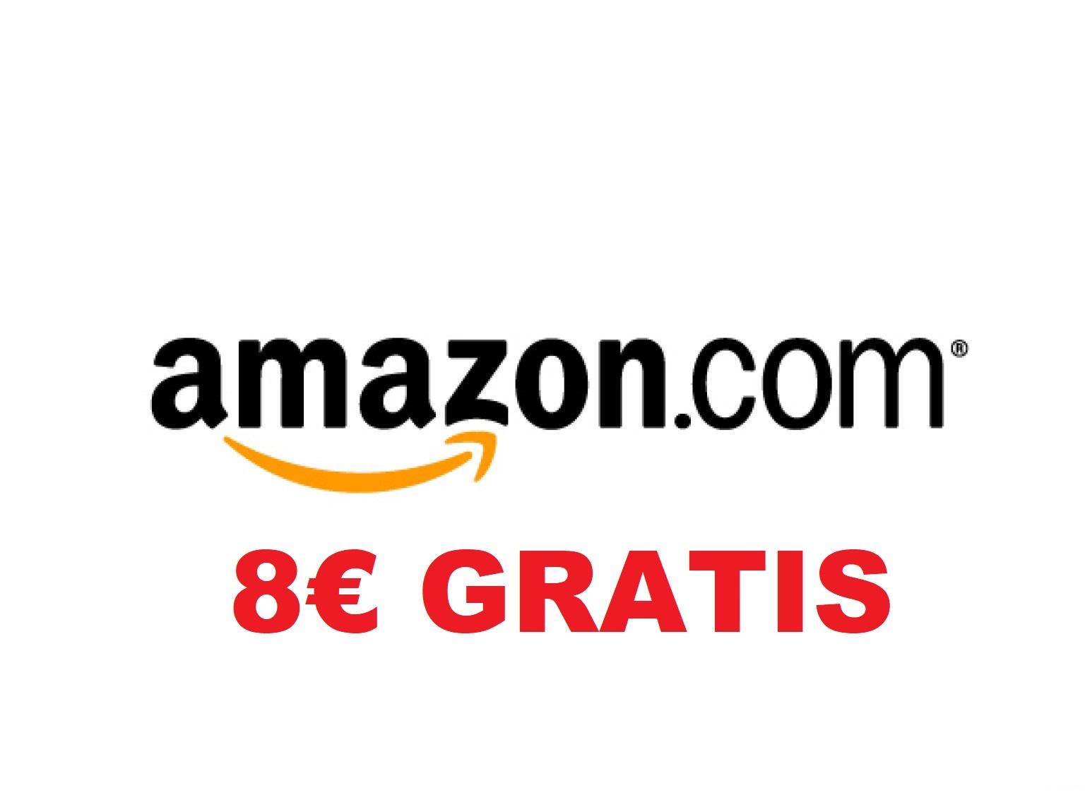 amazon 8€ GRATIS