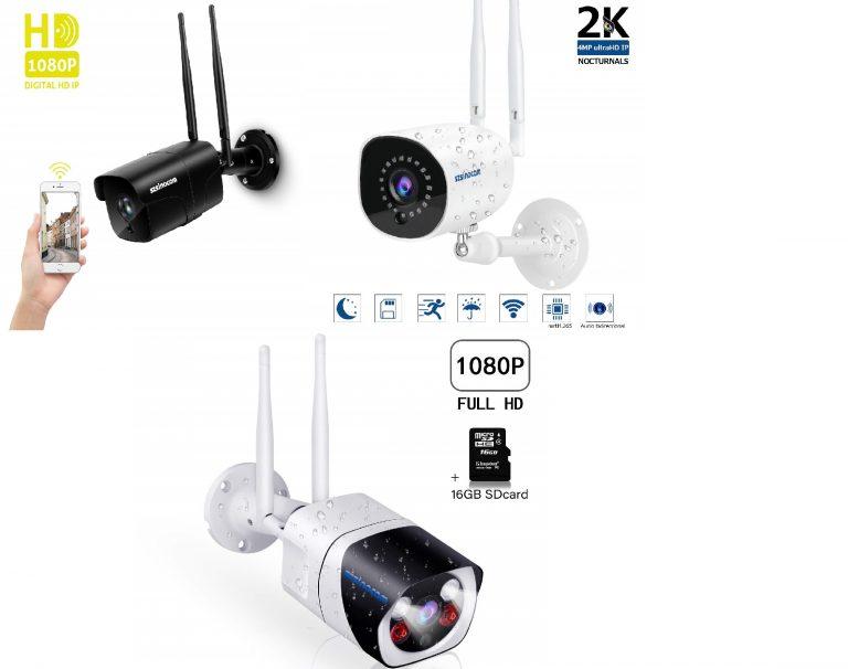 OFERTA AMAZON! Camara vigilancia exterior WIFI desde 51,9€