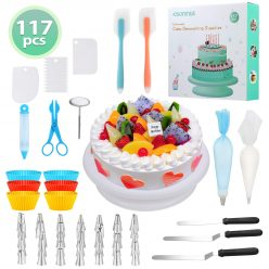 OFERTA AMAZON! 117pcs Decoracion para pasteles a 16,9€