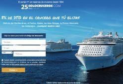 -8% DTO en el Crucero que tu elijas en SoloCruceros.com