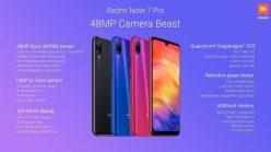 Xiaomi Redmi Note 7 Pro, con snapdragon 675 y mejora su camara de 48 MP, a 218€