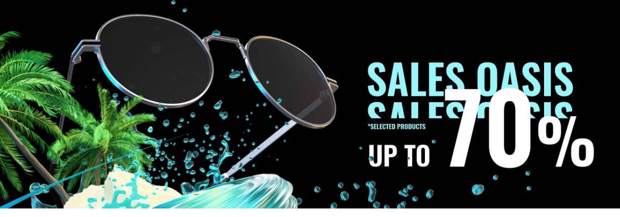 Super Promocion: 70% de descuento en Hawkers, Gafas de Sol desde 11€