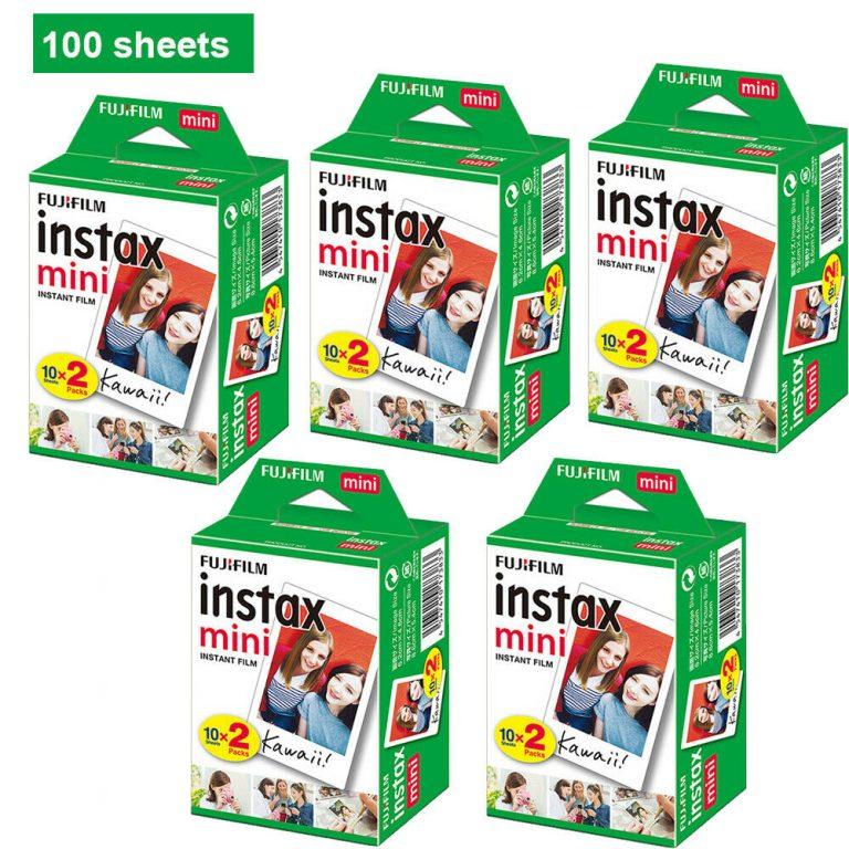 OFERTITA! 100 hojas Fujifilm Instax Mini a 58€