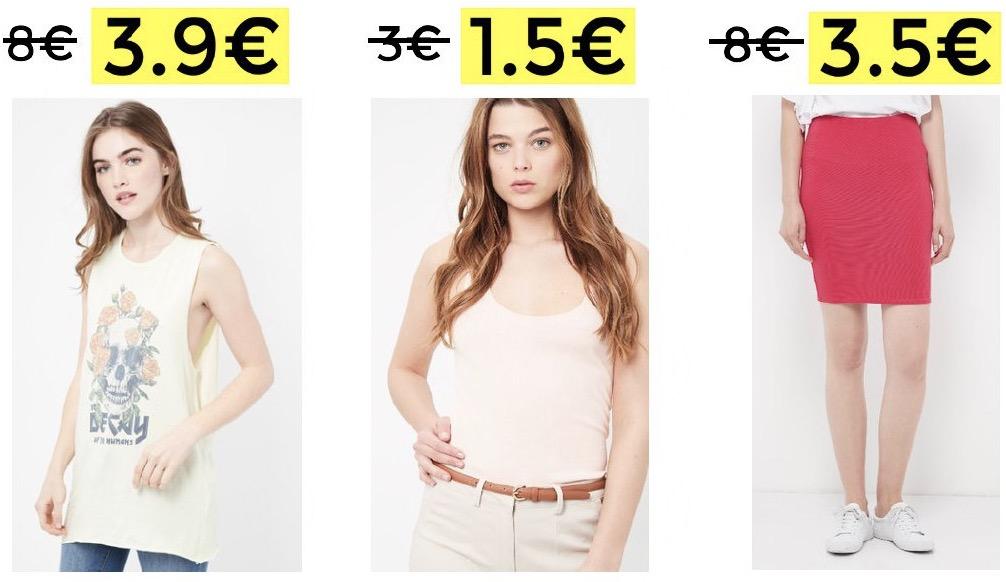 CHOLLAZO! Camisetas desde 1,5€ – 60% de descuento en Lefties + 10€ EXTRA