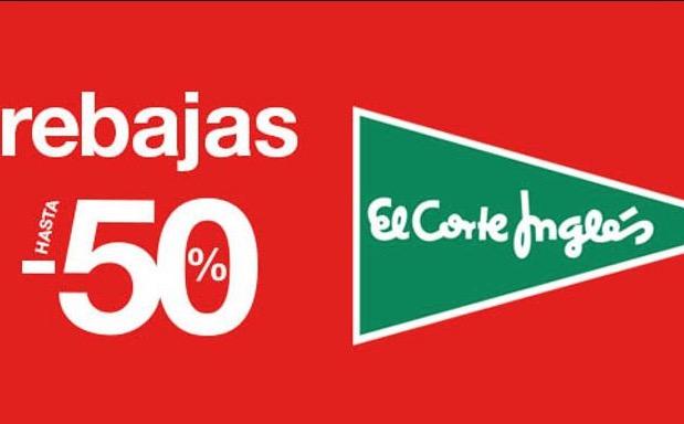 CHOLLAZOS LOCOS! 50% dto Mitad de precio en el Corte ingles