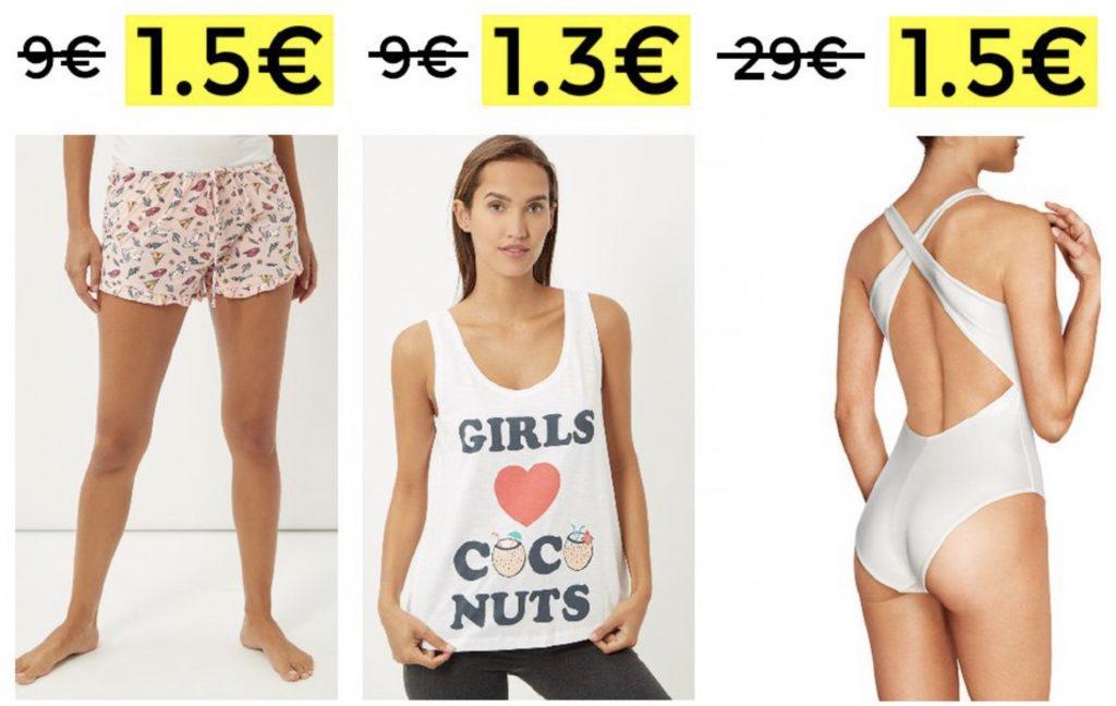 CHOLLAZOS! Women´s Secret con 90% de descuento prendas desde 1,5€