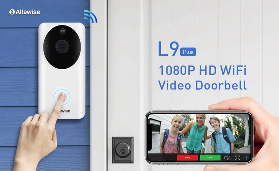 Super PRECIO! Alfawise L9 Plus Smart Home Security 1080P a 43€