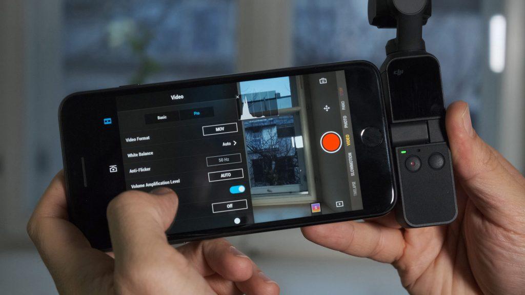 DJI Osmo Pocket móvil
