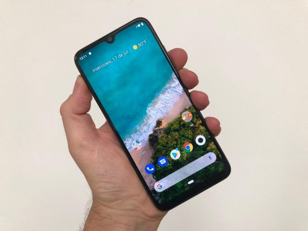 Xiaomi Mi A3 pantalla