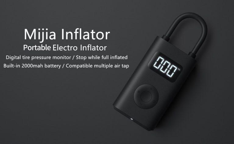 Inflador Digital Xiaomi Mijia MI Portable Air Pump MJCQ01QJ al mejor precio desde Amazon