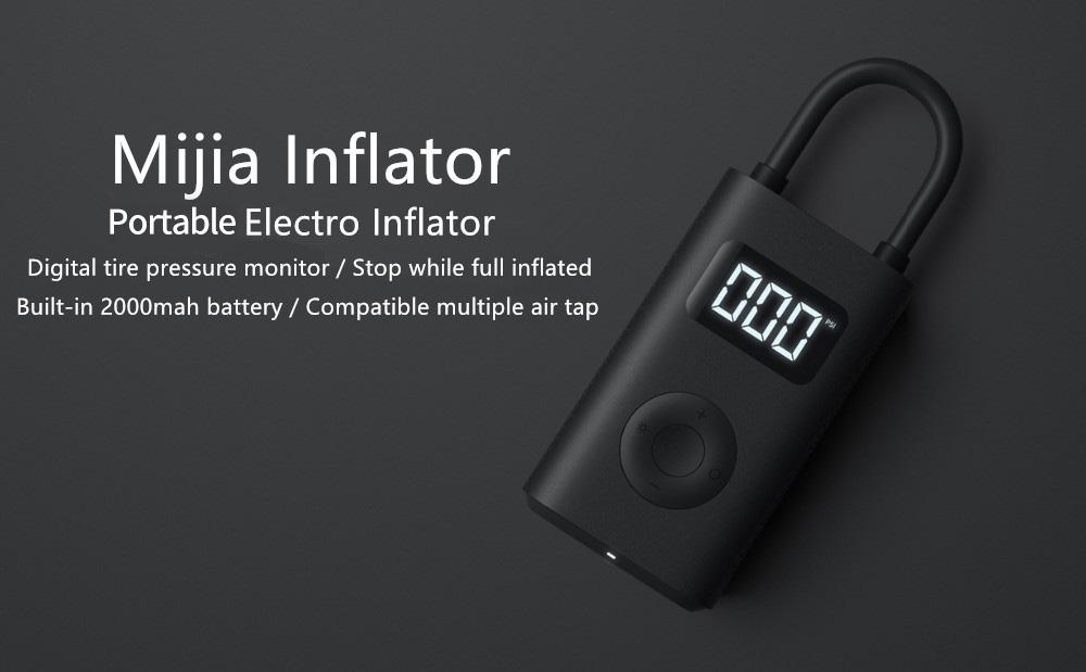 REBAJA Amazon! Inflador Digital Xiaomi Mijia MI Portable Air Pump a 34€