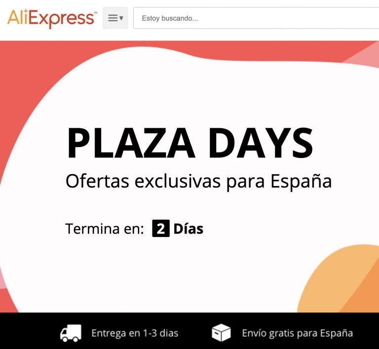 Especial Plaza Days! Aliexpress Plaza