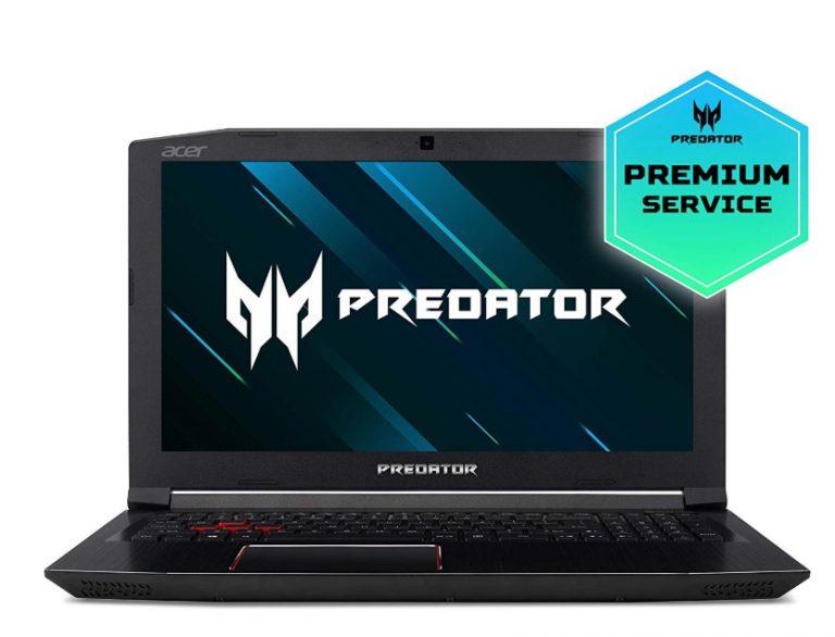 PRECIO LOCO Amazon! Pepino Gaming Acer Predator Helios i7-8750H, 8GB RAM, 1TB HDD + 128GB SSD , GTX1060 a 550€