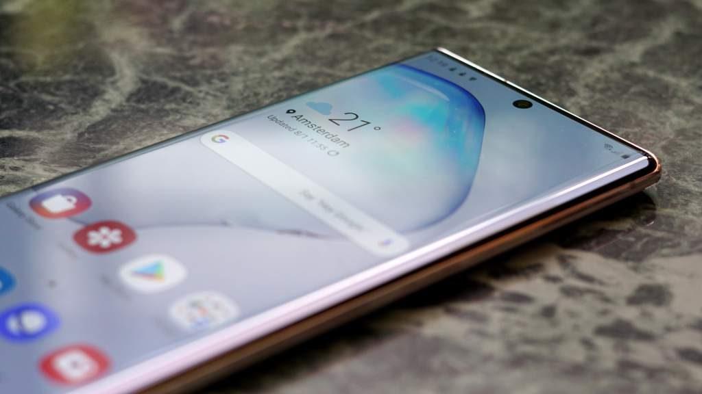 Samsung Galaxy Note 10 pantalla