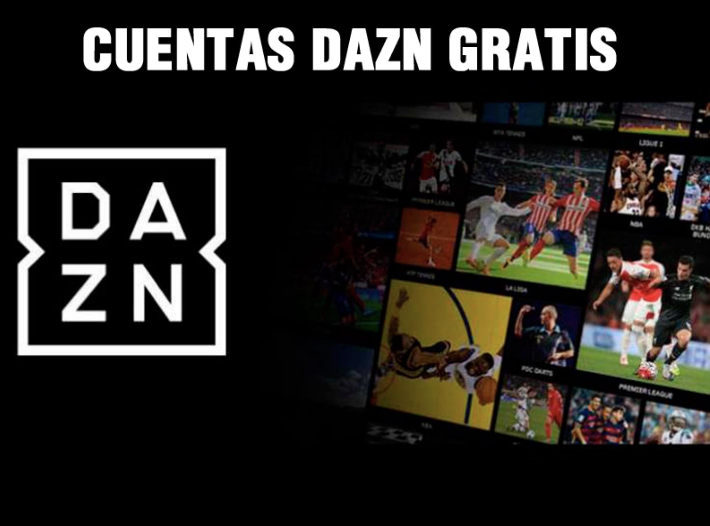 DAZN Cuenta gratis