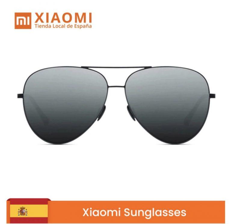 Desde ESPAÑA! Gafas de Sol Xiaomi Polarizadas estilo Aviador por 15€