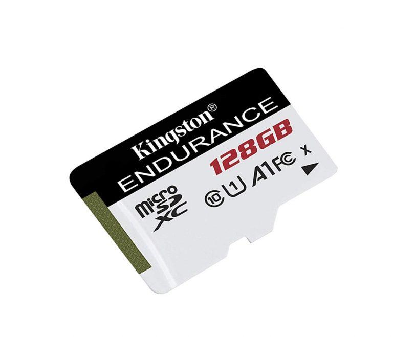 Chollo Amazon! Micro Sd Kingston Endurance 128GB U1 A1 al mejor precio