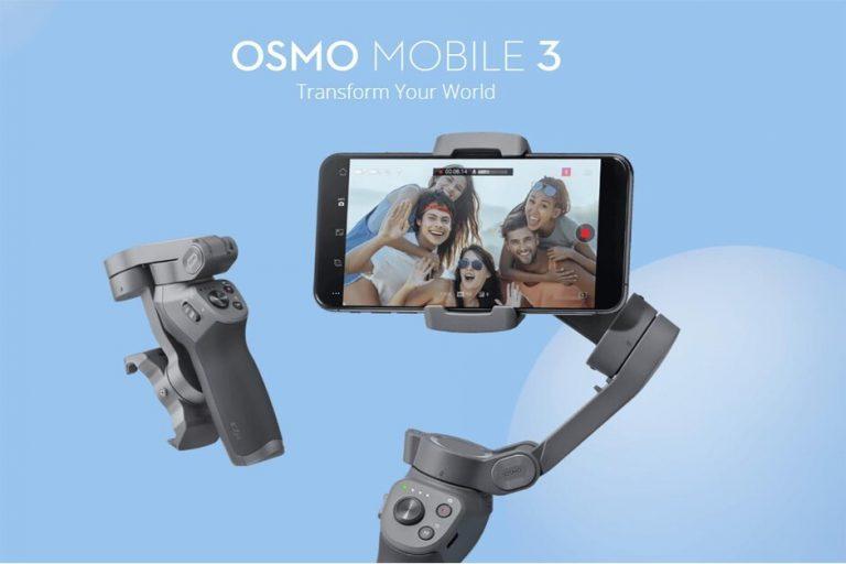 CHOLLO desde España! DJI Osmo mobile 3 con 3 ejes plegable a 83€