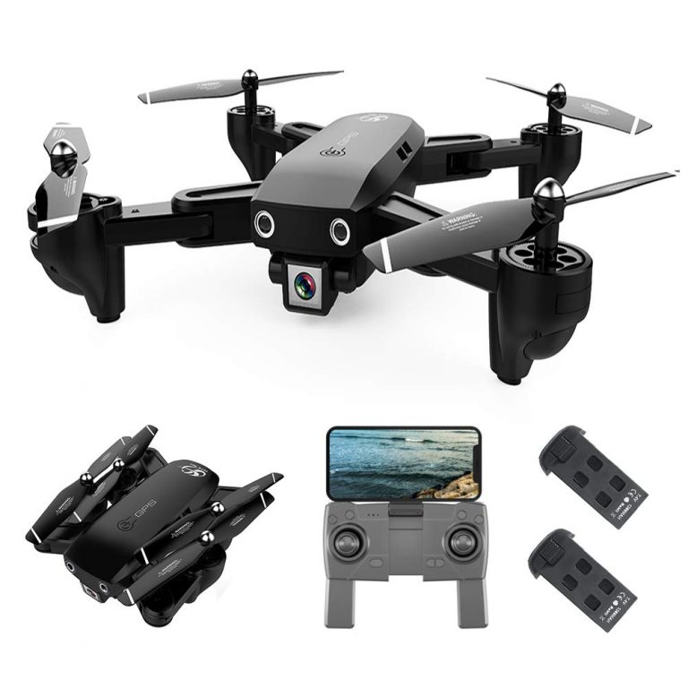 OFERTITA AMAZON! Drone Goolsky CSJS166 1080P GPS WIFI a 71,9€