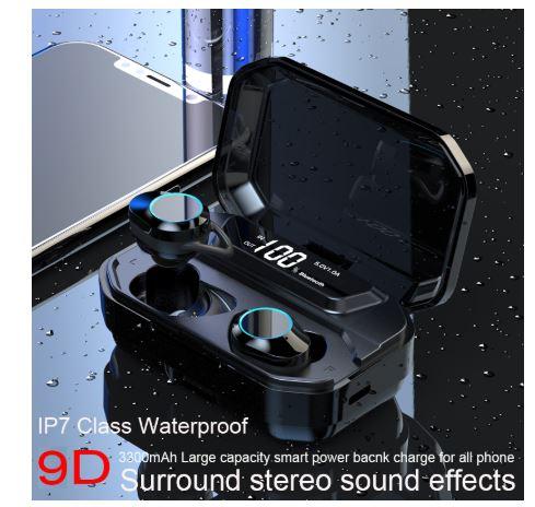 OFERTITA! Auriculares inalambricos TWS G02 a 12,5€