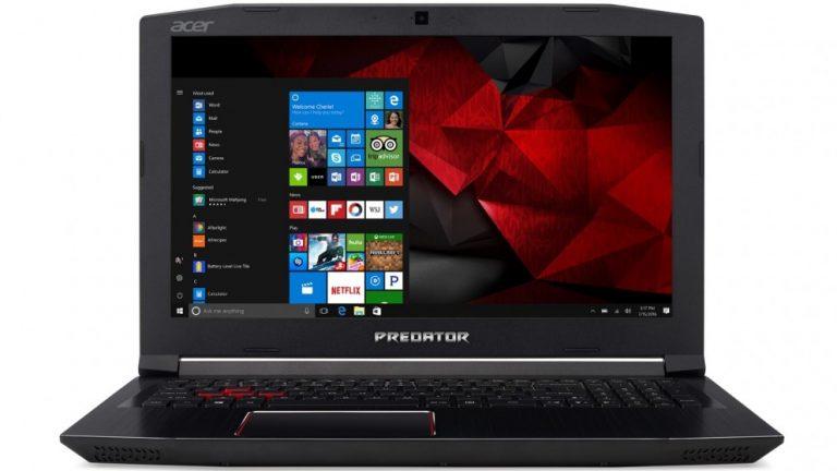 Chollo Amazon! Portatil Gaming Acer Predator Helios 300 GTX 1060 a 799€