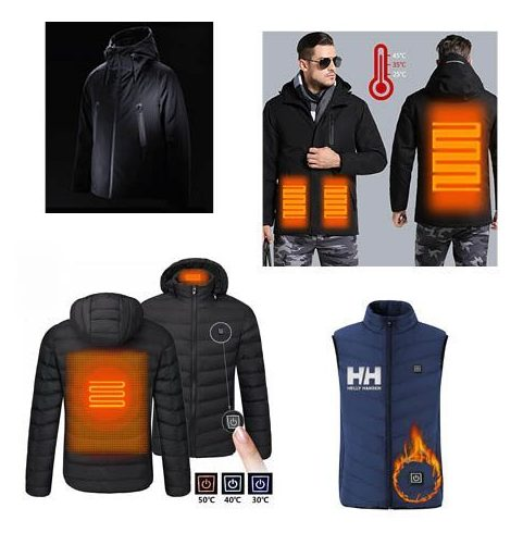 La prenda de moda este invierno, Recopilación de las mejores chaquetas calefactables desde 13€