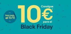 10€ de descuento para el Black Friday en eBay