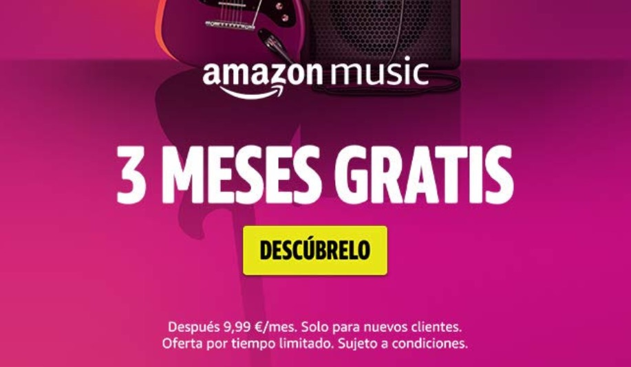 Ultimo dia! 3 Meses Amazon Music unlimited GRATIS