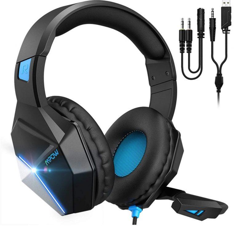 BUEN PRECIO AMAZON! Auriculares Gaming Mpow EG10 a 17,9€