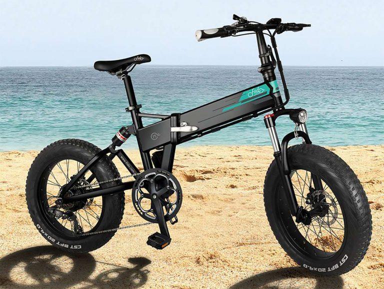 CHOLLO Desde Europa! Bicicleta eléctrica de Fiido M1 con rueda gorda a 782€