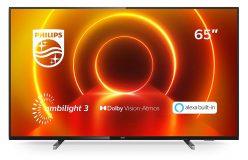 SUPER PRECIO! TV Philips 65″ Ambilight, UltraHD 4K a 559€